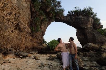 Natural bridge.